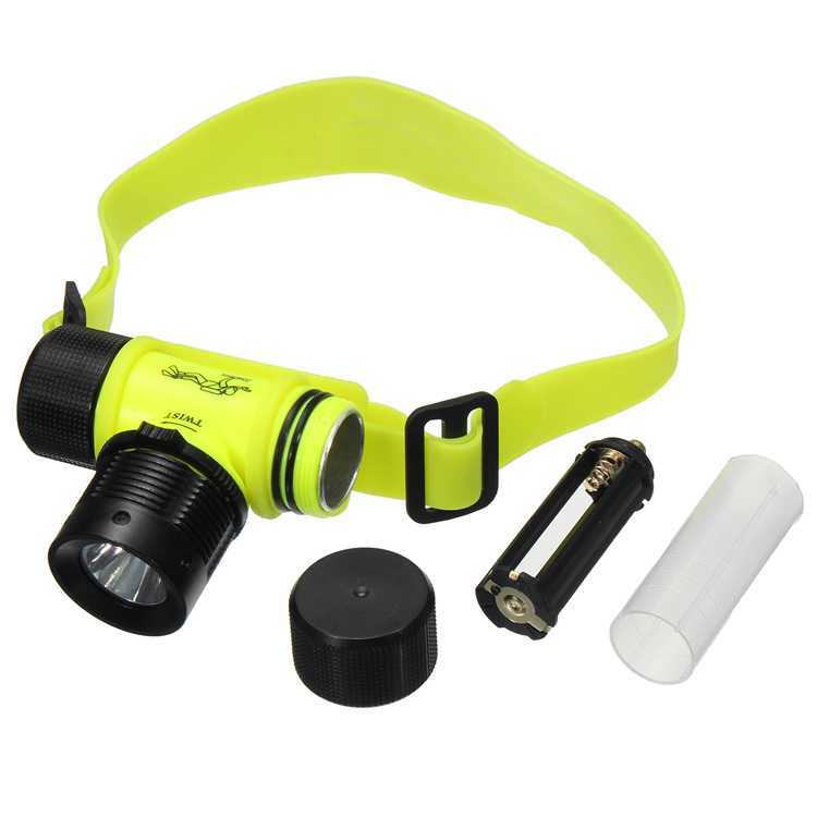1000LM LED Under Water Waterproof Diving Headlamp Flashlight Headlight