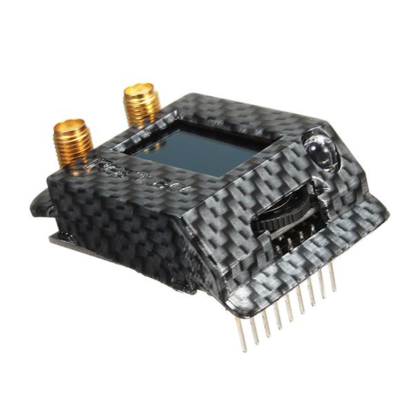 Realacc RX5808-PRO-PLUS-OSD Case Carbon Fibre FPV Receiver Protector Cover for Fatshark Dominator Goggle