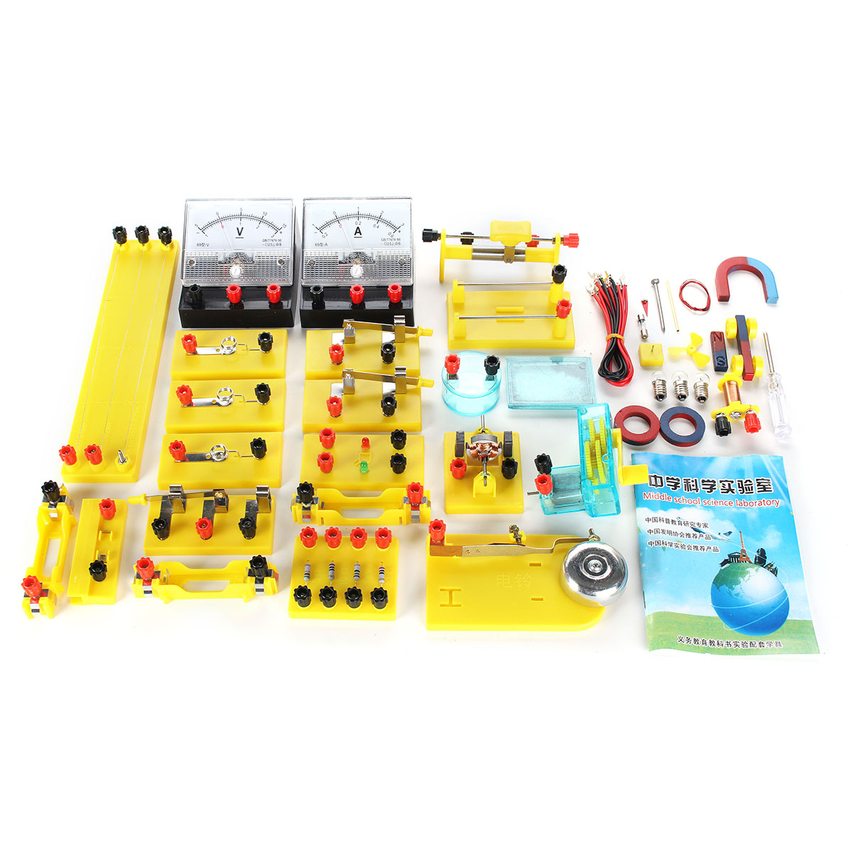 Electricity Physical Experiment Science Circuit Education Test Set Model Junior High School Student