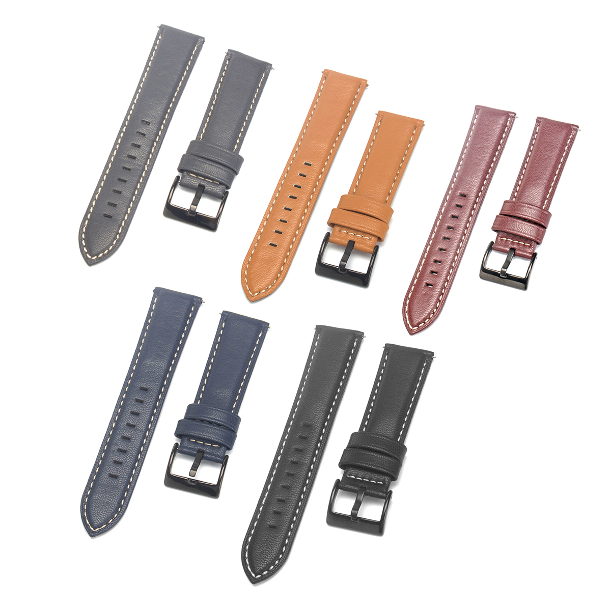 Replacement 22mm Watch Band Wrist Strap for Fossil Q Fo
