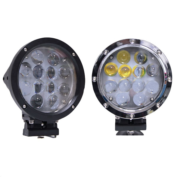 7 Inches 60W 6000K LED Vehicle Work Head Lights For SUV Truck Ship Lamp OVOVS