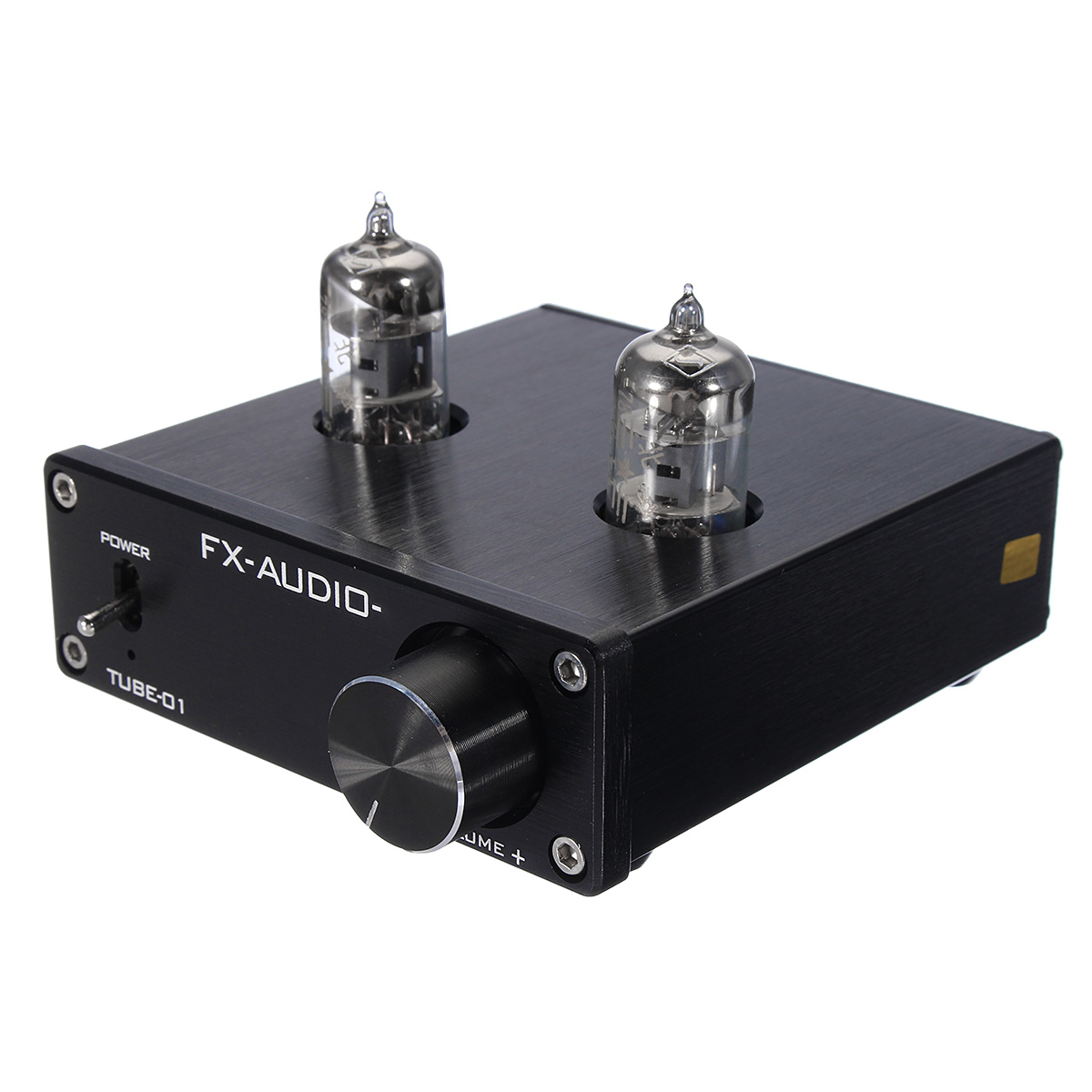 FX-Audio Tube-01 Mini 6J1 Valve Vacuum Tube Pre-Amplifier Stereo Audio HiFi Buffer Amplifier