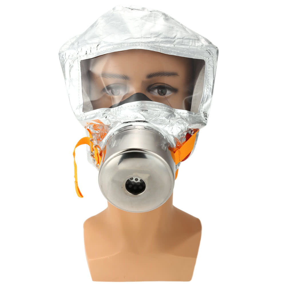 Fire Mask Emergency Escape Mask Smoke Gas Mask Self-life-saving Respirator for Home Hotel Shop Market