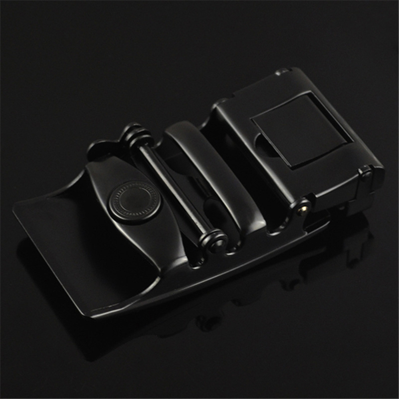 Men Alloy Automatic Black Casual Durable Belt Buckle