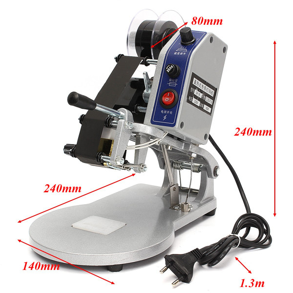 220V 100W Coding Printing Machine Manual Code Printer Stamping Tools