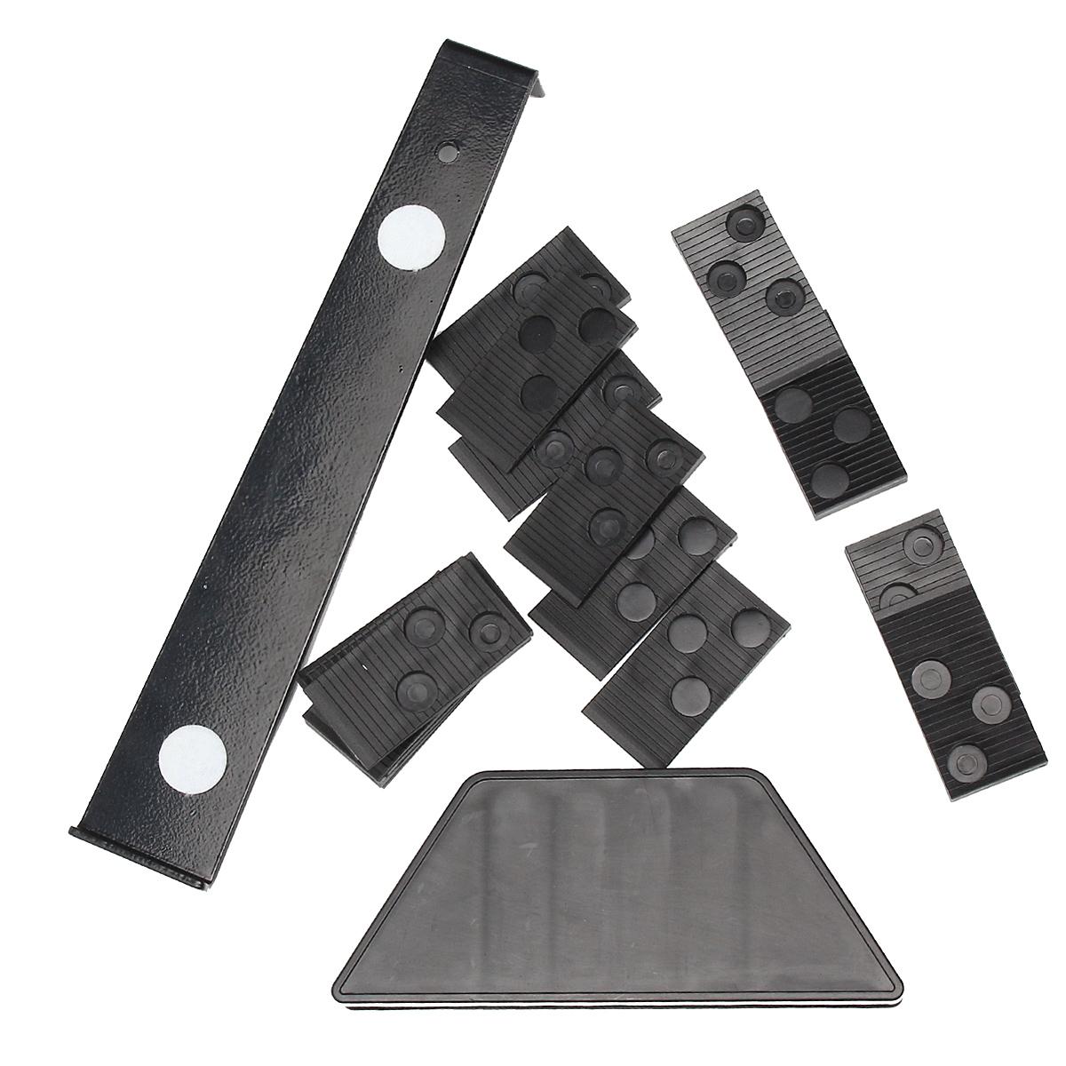 Wood Laminate Flooring Installation Tool Floor Fitting Kit with 20pcs Spacers Flooring Tool Set