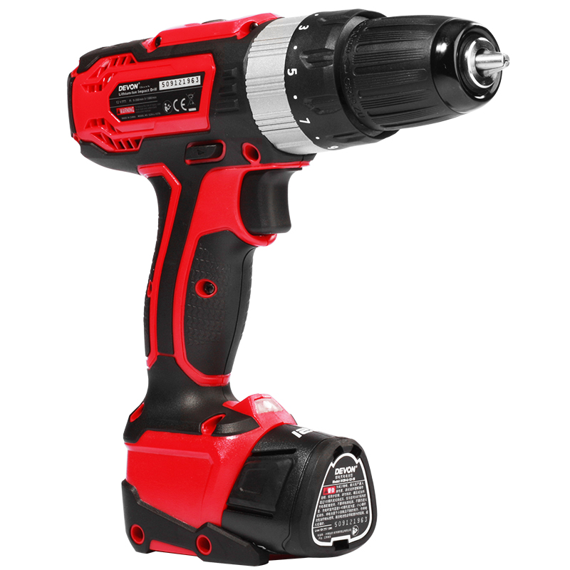 DEVON® 5230 Rechargeable Electric Screwdriver Tool Household Impact Drill