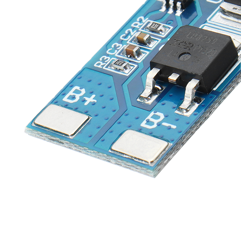 2S 7.4V 8A Peak Current 15A 18650 Lithium Battery Protection Board With Over-Charge Discharge Protection Function