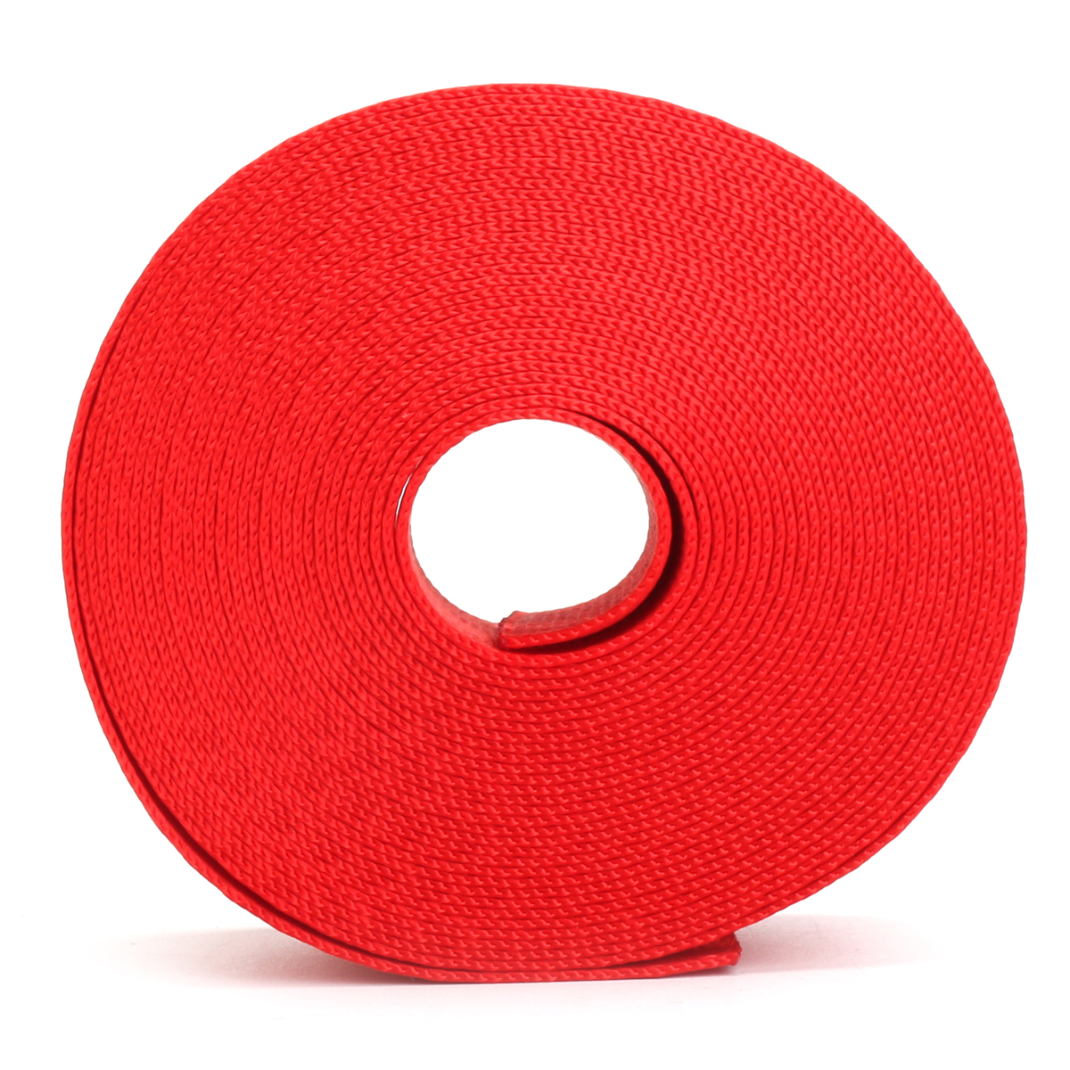 6m Red Car Seat Belt Strap Safety Webbing 2500kg Break Strength