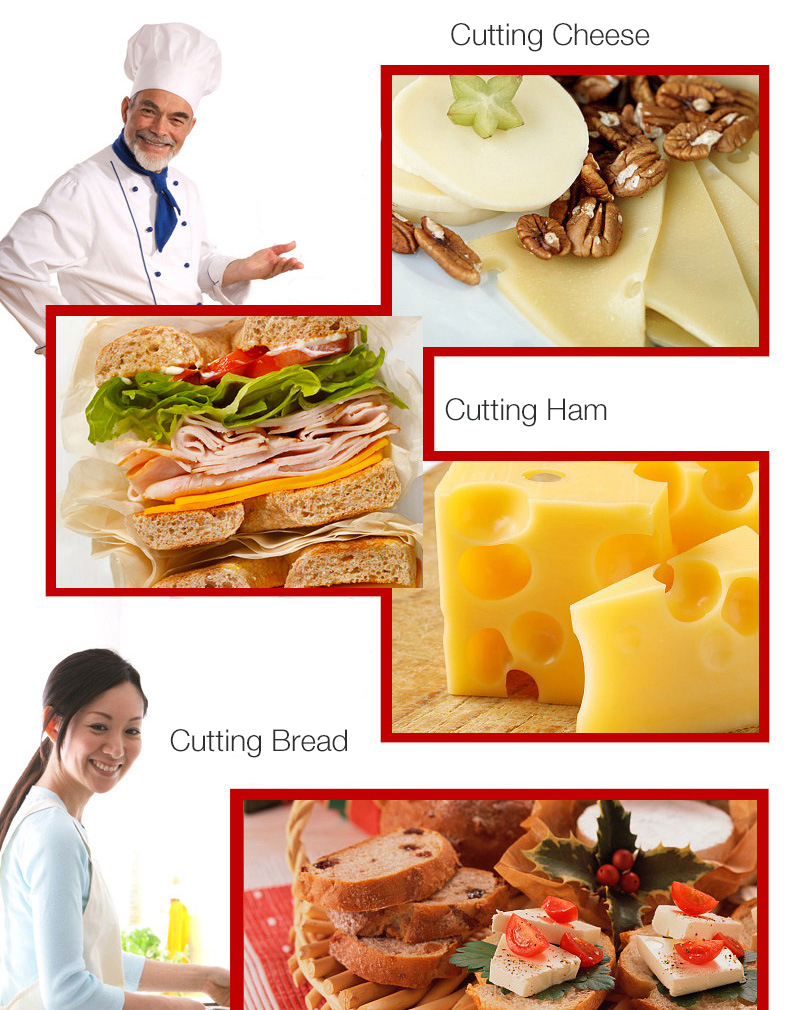 KCASA KF-30 Triangle Shape Hollow out High Quality Stainless Steel Cheese Cutting Kitchen Slicing Knife