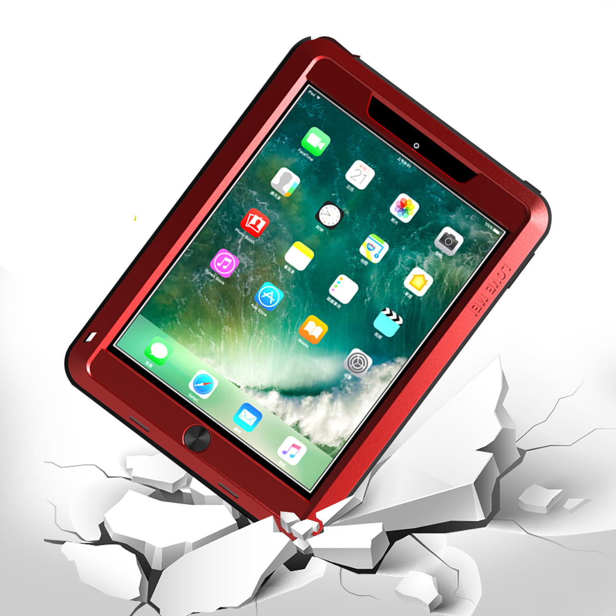 Lovemei Waterproof Shockproof Tablet Case For New iPad