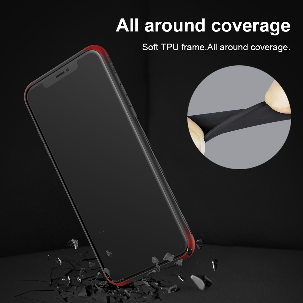 Nillkin Spacetime 2.5D Tempered Glass Protective Case For iPhone X/XS Scratch Resistant Back Cover