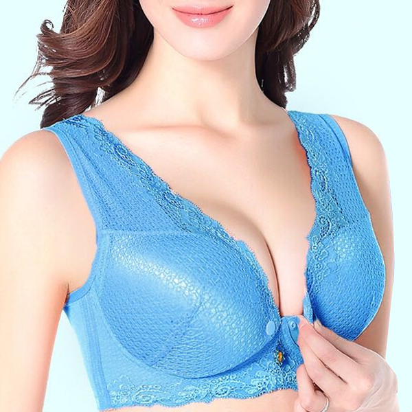 Wireless Front Closed Breast Feeding Bra