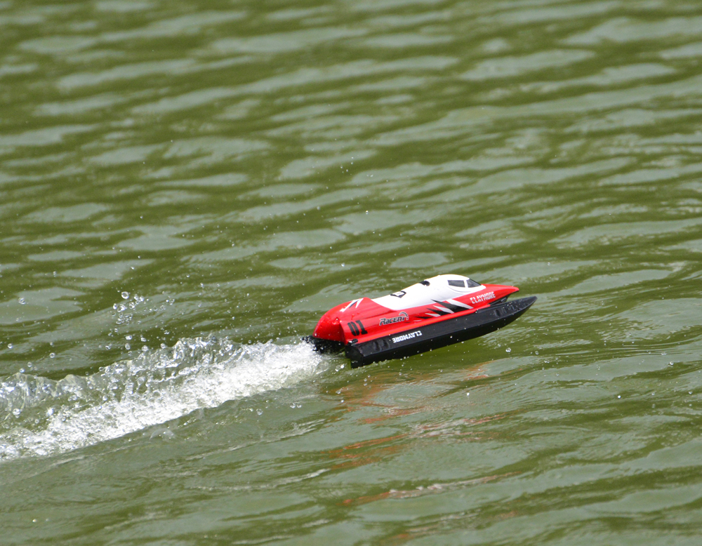 Volantex V795-2 2.4GHz 2CH 28KM/h High Speed 25.5cm Mini Racing RC Boat RTR