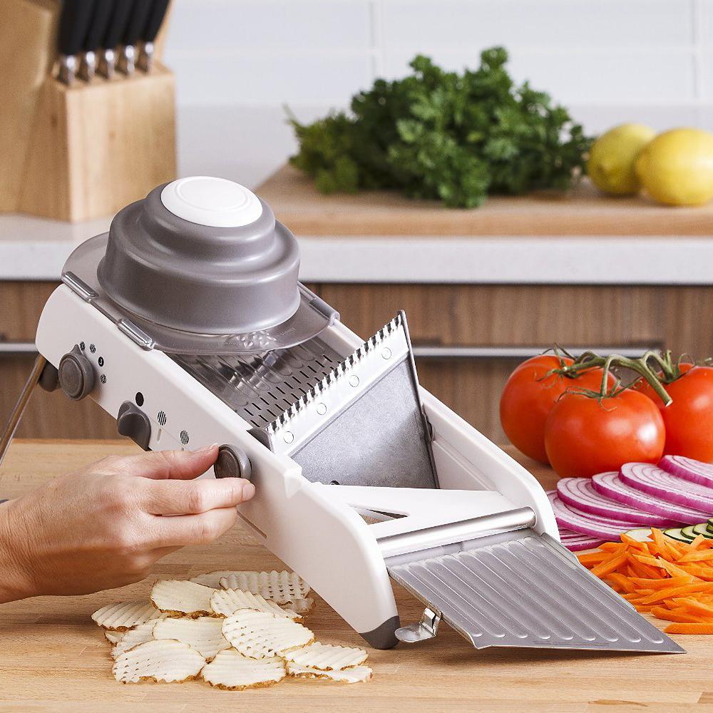 Mandoline Adjustable Stainless Steel Multi-function Vegetable Cutter Chopper Julienne Food Slicer