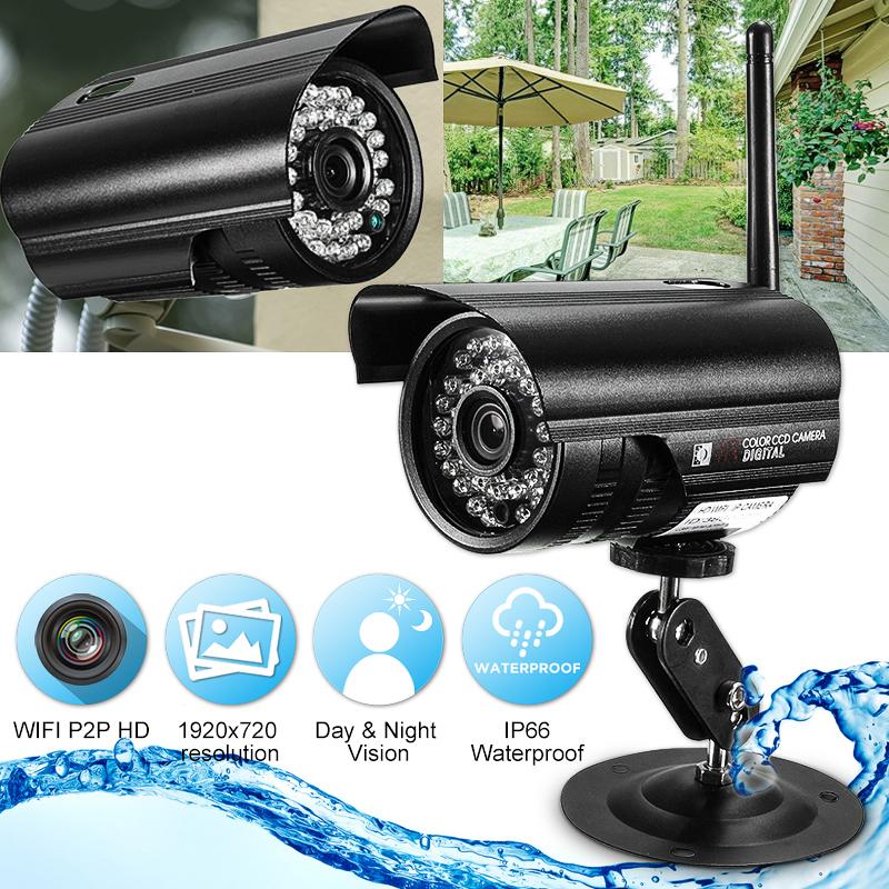P2P HD IP CCTV Wifi Wireless High Definition Surveillance Camera Waterproof