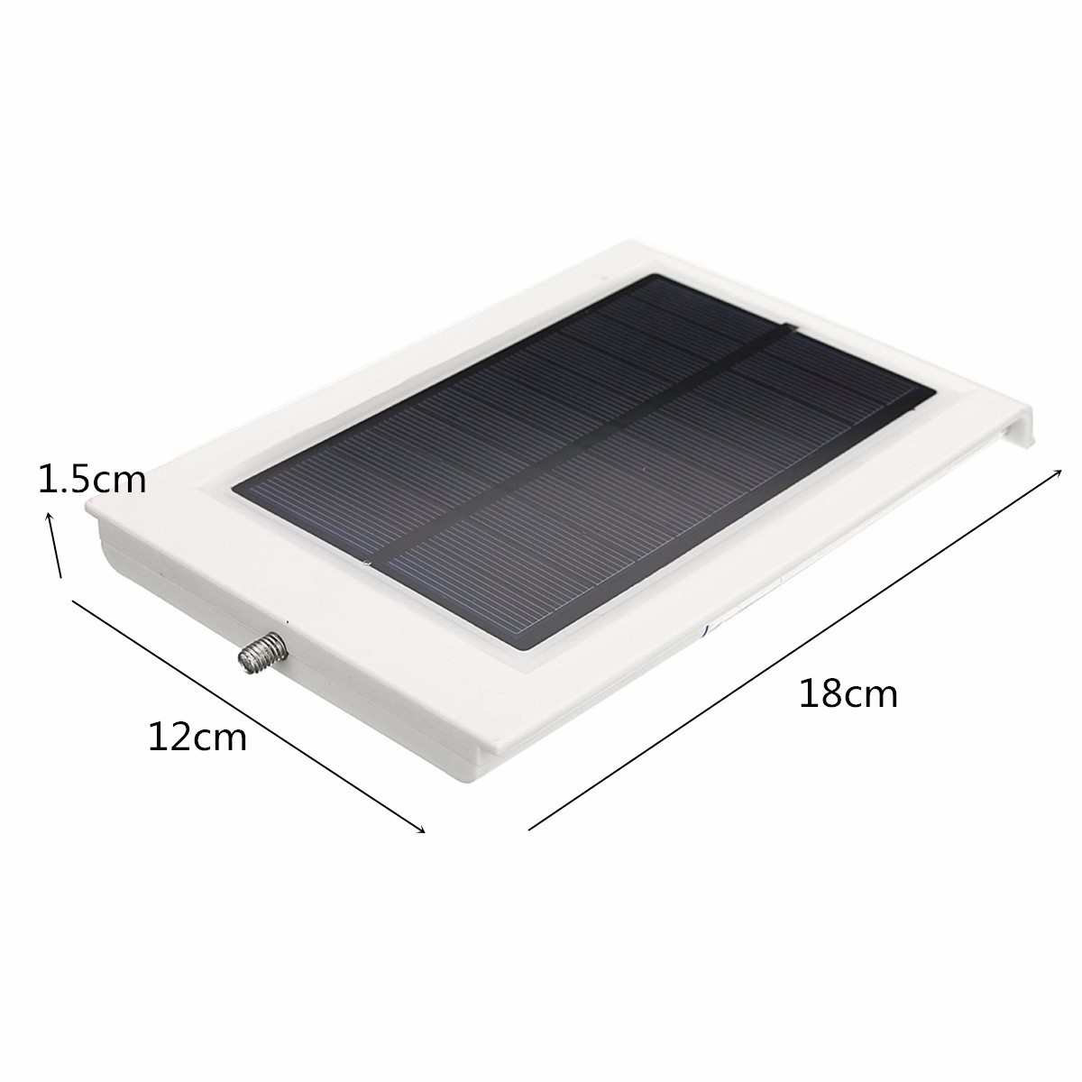 Solar Powered 15LED Outdoor Waterproof Light Control Security Wall Lamp
