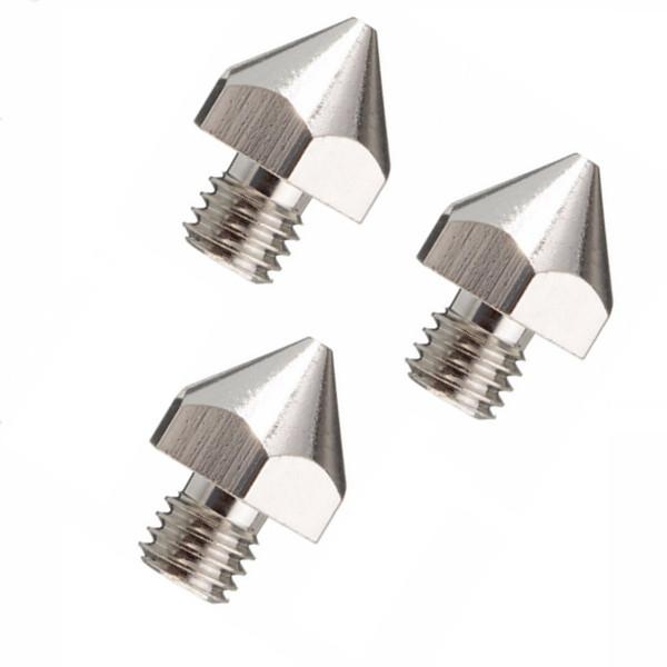 3Pcs 3mm Filament 0.3mm Nozzle MK8 3D Printer Extruder