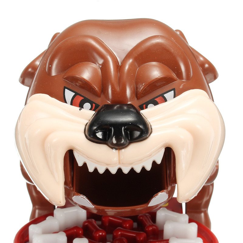 Big Mouth Dog Bite Finger Funny Parent-child Educational Desktop Games Novelties Toy