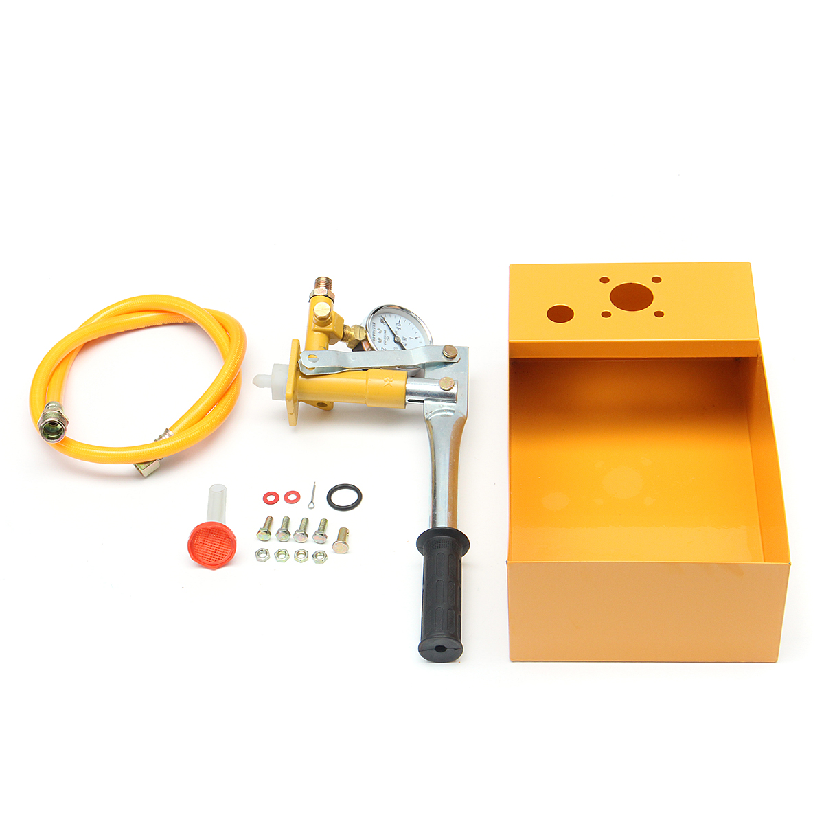 2.5Mpa 25kg Manual Hydraulic Water Pressure Pipeline Test Pump Machine Tools