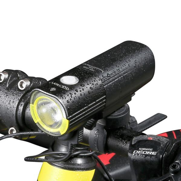 GACIRON 1000 LM Bicycle Light FronT-Handlebar Light 450