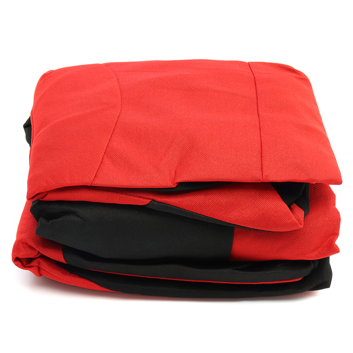 8Pcs Polyester Fabric Car Full Seat Cover Cushion Protector Set Front Rear 4 Heads Universal