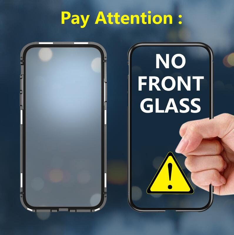 Bakeey 360° Magnetic Adsorption Metal Tempered Glass Flip Protective Case for Xiaomi Mi 9T/ Mi9T Pro / Xiaomi Redmi K20/ Xiaomi Redmi K20 PRO