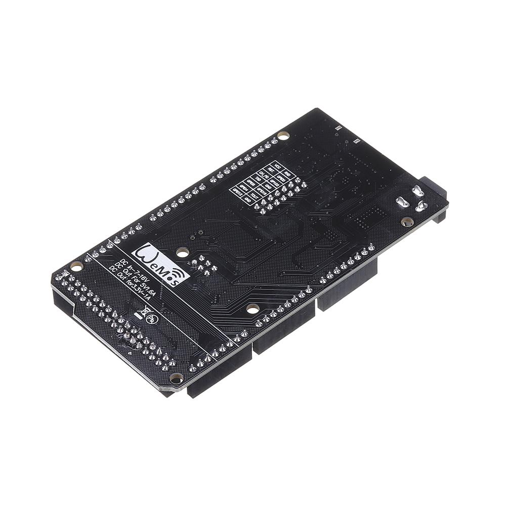 Geekcreit® Mega +WiFi R3 Module ATmega2560+ESP8266 32Mb Memory USB-TTL CH340G Compatible For Arduino Mega NodeMCU ESP8266