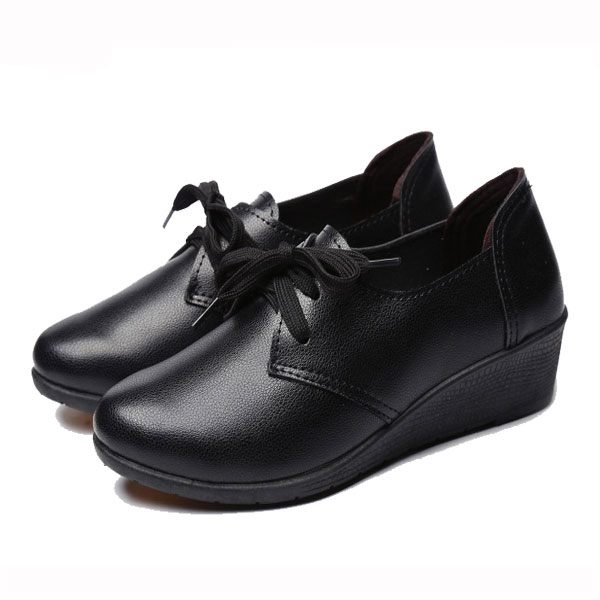Flats Casual Shoes Women Lace Up Comfortable Loafers