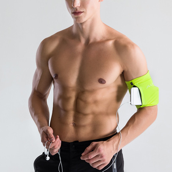 Men Sport Phone Arm Bag Running Fitness Gym Pouch Wrist Bag
