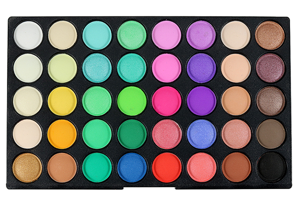 POPFEEL 120 Colors Mini Eyeshadow Palette Set Kit Matte Glitter Shimmer Cosmetic Portable Eye Makeup