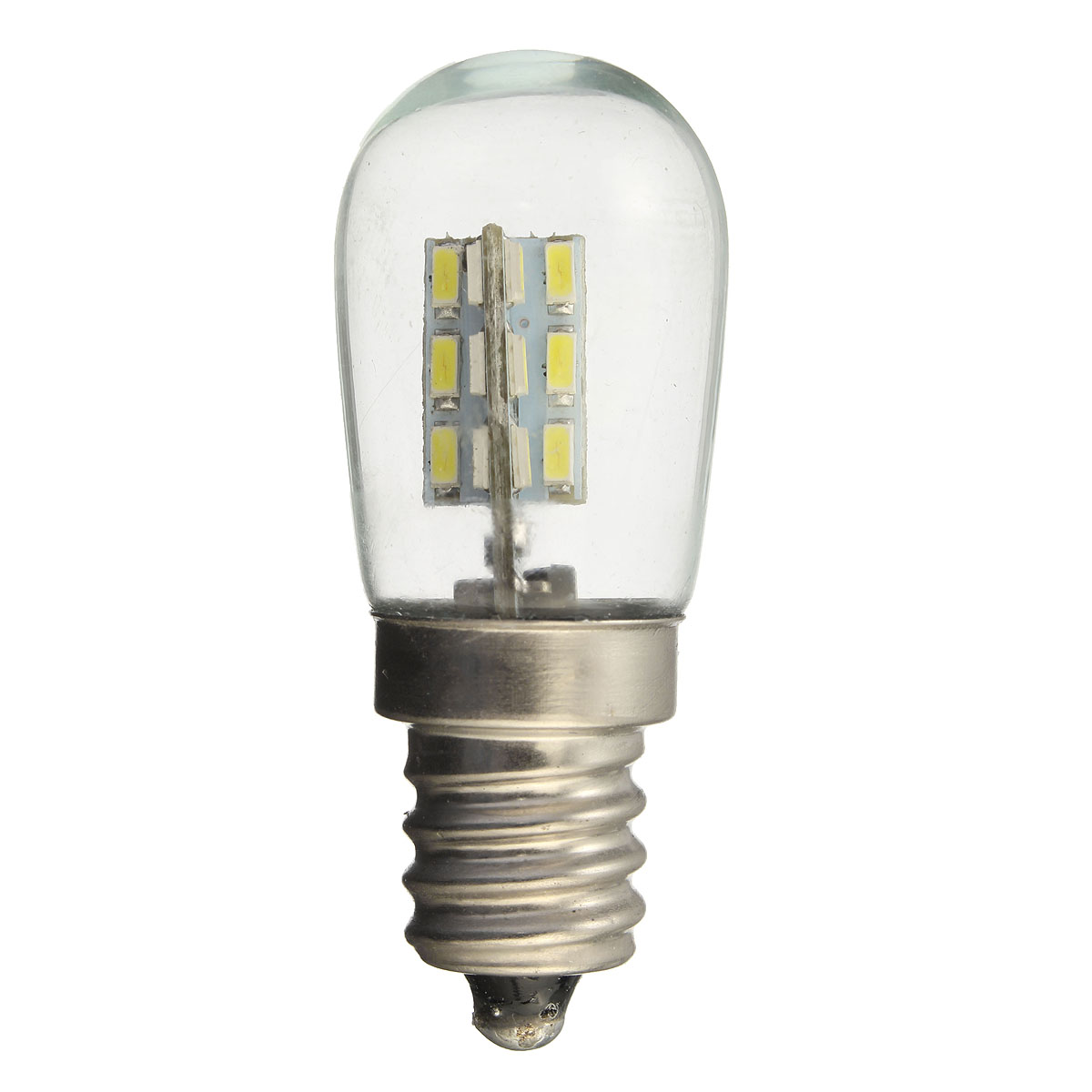 E12 2W 24 SMD 3014 LED Pure White Warm White Bed Lamp Light Bulb AC220V