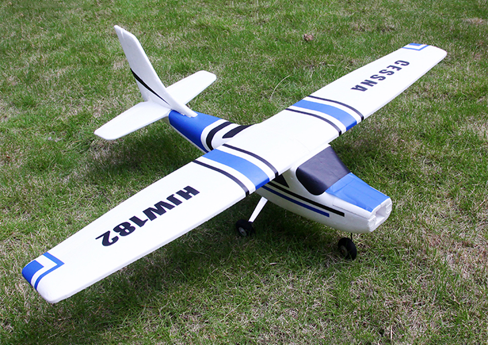 Cessna HJW182 1200mm Wingspan EPS Trainer Beginner RC Airplane Kit