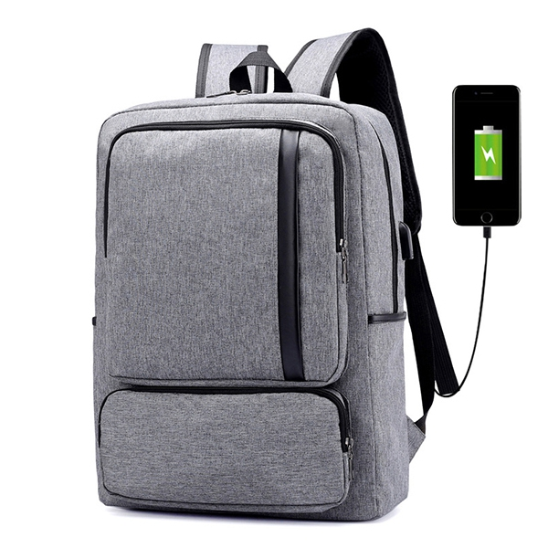 ... Travel Backpack Big Capacity Waterproof Oxford Bag For Men. Oxford  Casual Business USB Charging 16 Inches Laptop Backpac 4f46bddbee1df