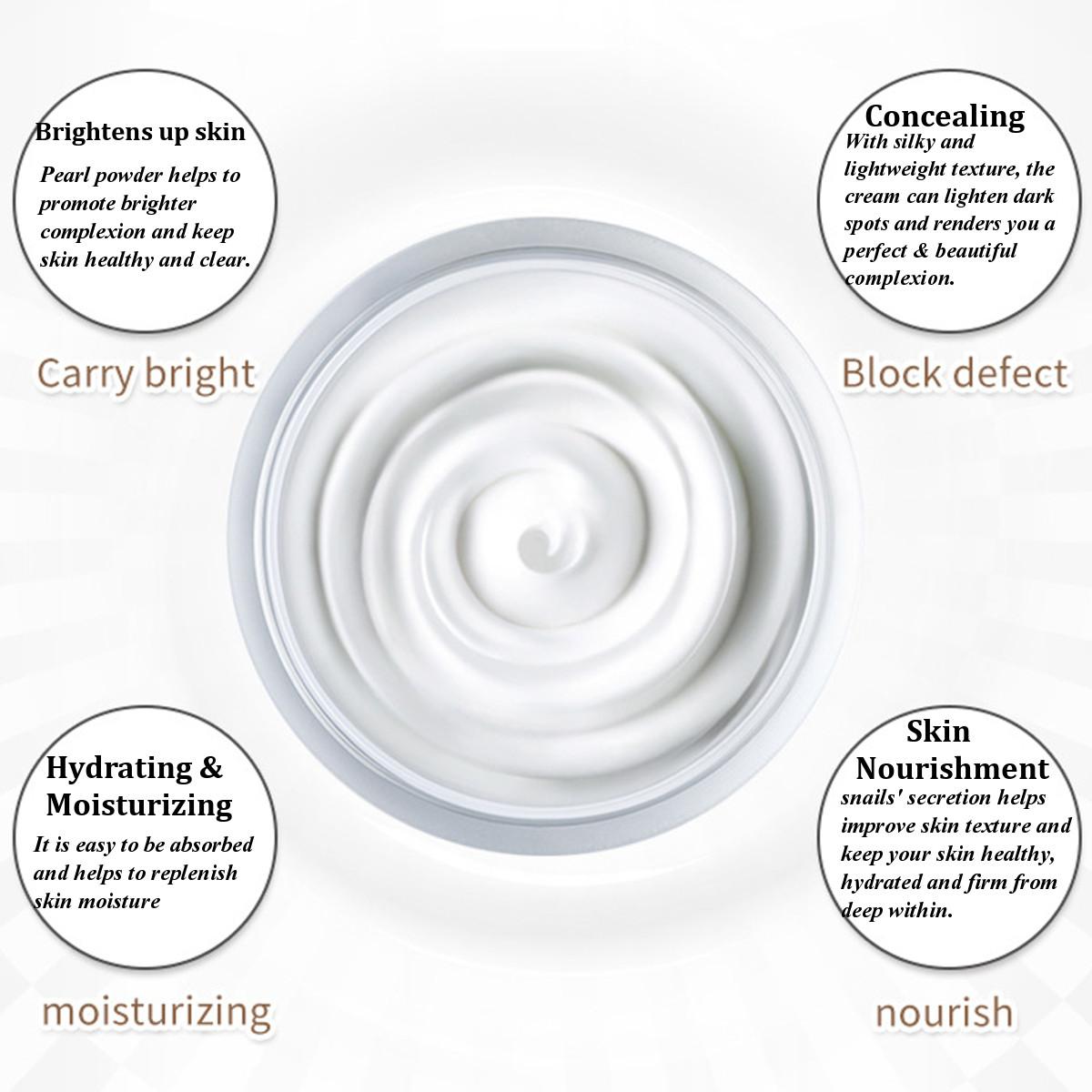 Hydra Facial Cream Snail Face Cream