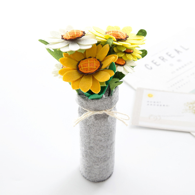 Non-woven Hand-made Fabric Diy Material Package Free Cutting Artificial Flower Decoration Decoration Mother