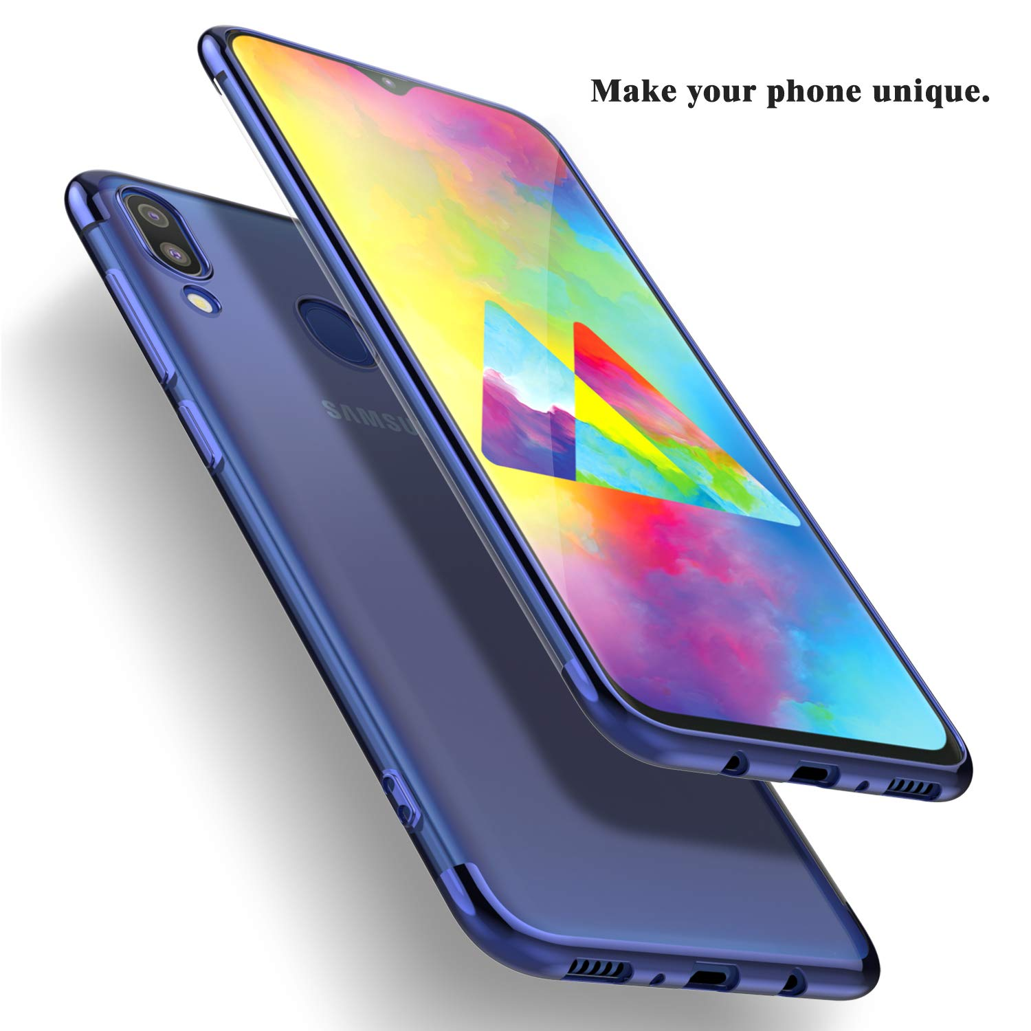 Bakeey Plating Soft TPU Protective Case For Samsung Galaxy M20 2019