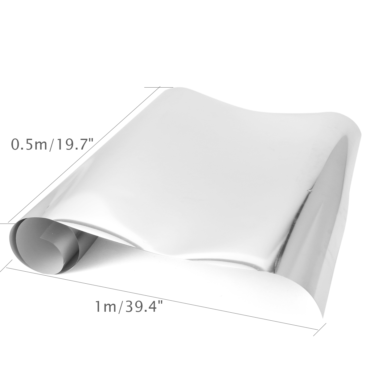 0.5x1m Heat Transfer Vinyl Film Roll T-shirt Garment DIY for Plotter Cutter 2 Colors