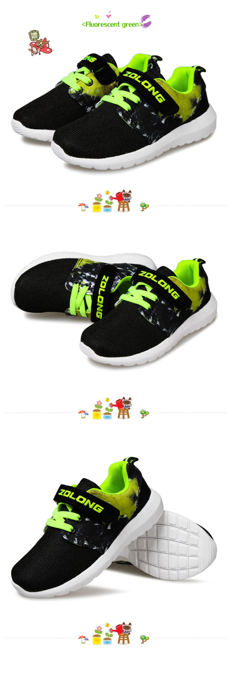 2016 Children Running Shoes Boys Grils Sneakers Athletic Shoe Kids Casual Breathable Board Footwear