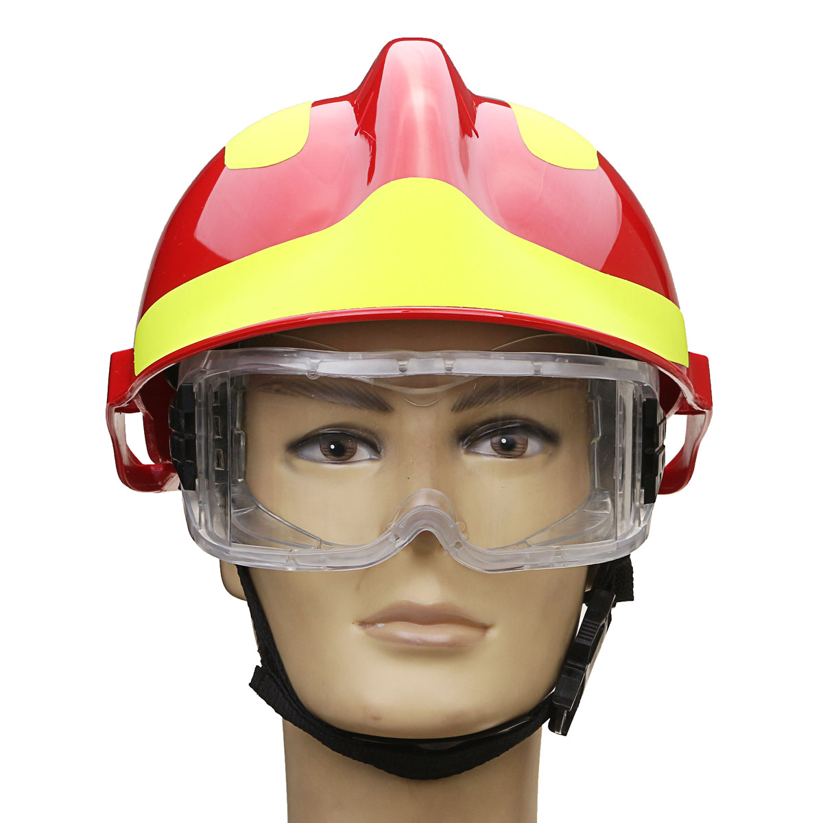 NEW Safurance Rescue Helmet Fire Fighter Protective Glasses Safety Protector Workplace Safety Fire Protection 53CM-63CM