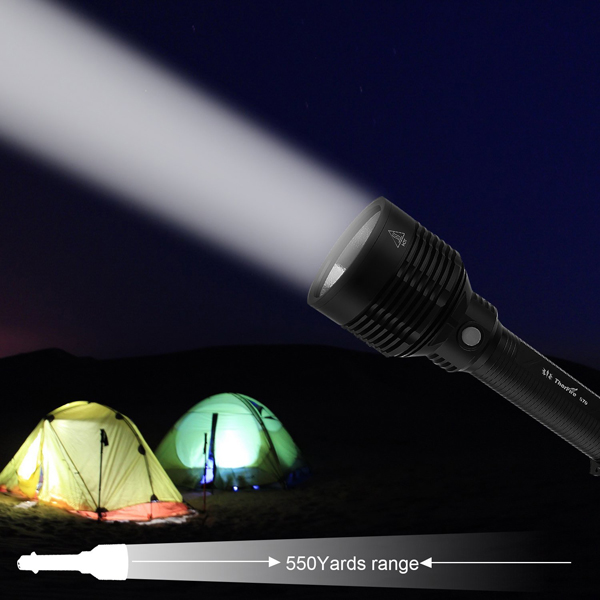 ThorFire S70 XHP70 3000LM 26650 6Mode Tactical Search LED Flashlight