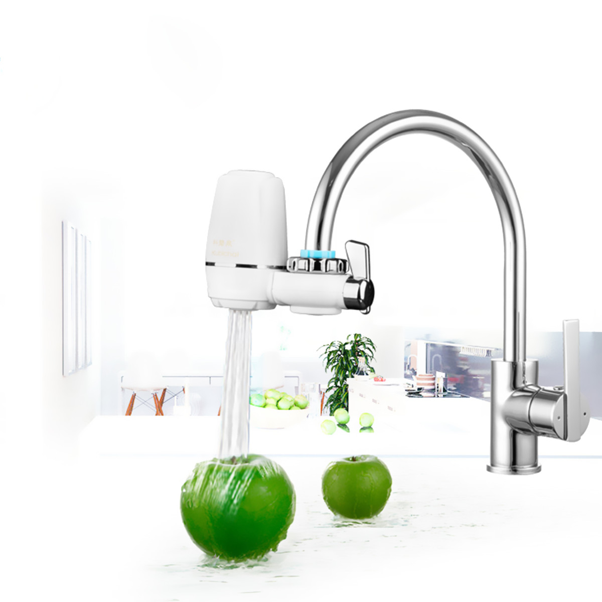 Water Faucets Filter Washable Ceramic Faucets Mount Water Tap Purifier