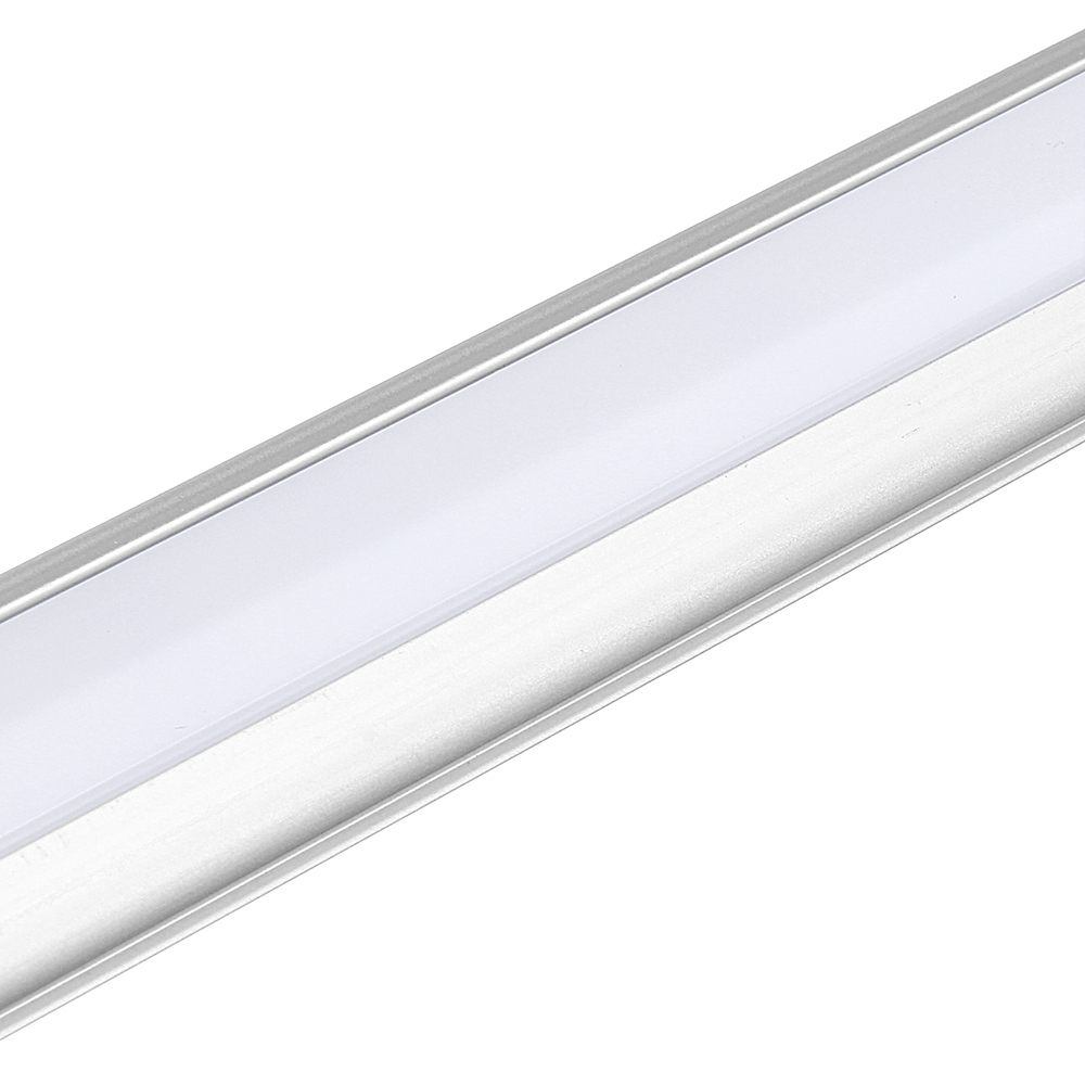 35CM 4.8W SMD5630 Milky White Transparent LED Rigid Strip Bar Cabinet Light with DC Connector DC12V