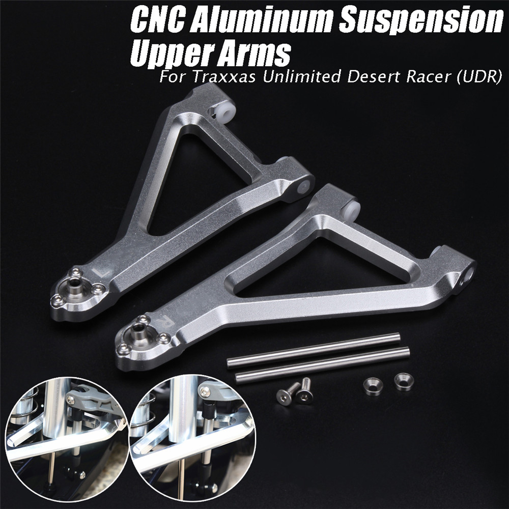L&R CNC Alloy Suspension Upper Arm Kit For Traxxas Unlimited Desert Racer UDR Rc Car Parts