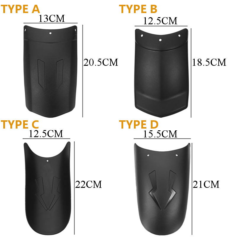 Motorcycle Front Rear Wheel Cover For Fender Extension Extender For HONDA/Yamaha/Kawasai/BMW/Benelli