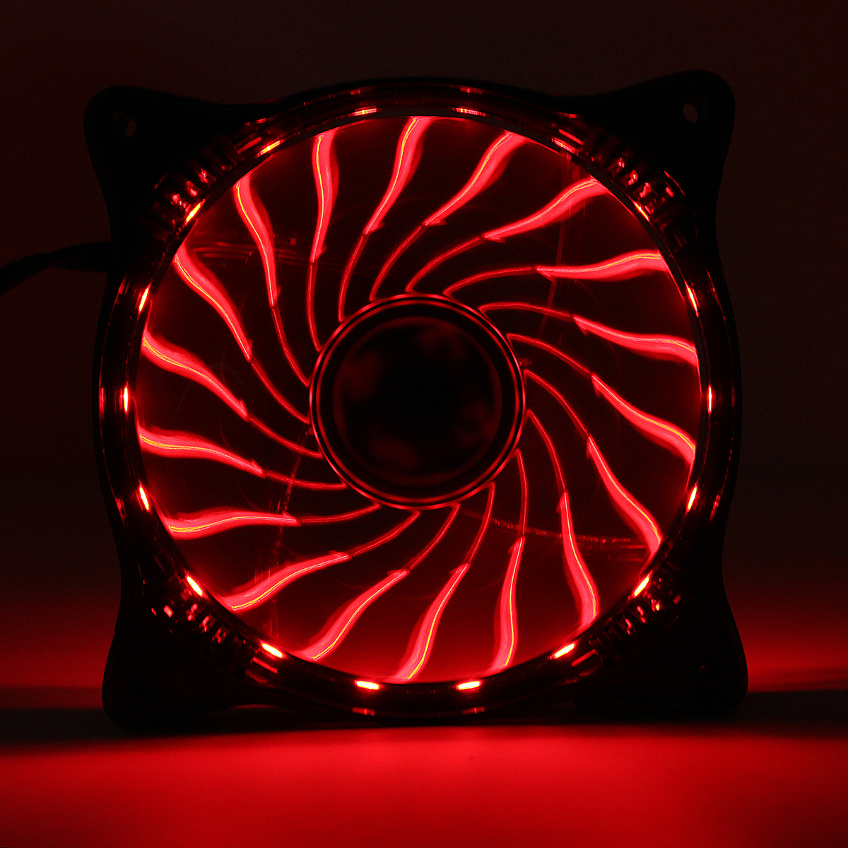 120mm 12V 3 Pin RGB LED Light PC CPU Cooling Fan Cooler Silent Heat Sink