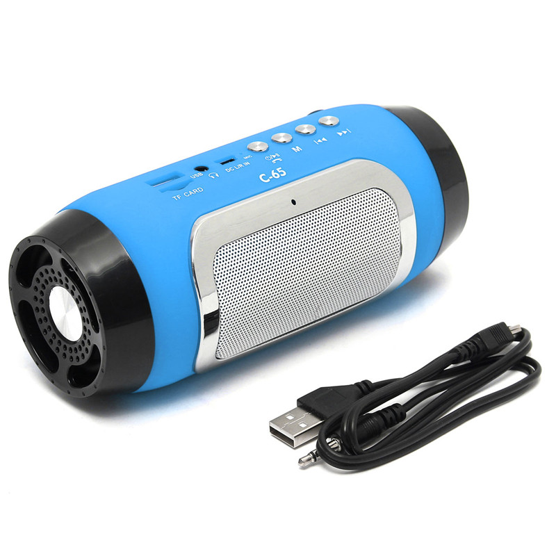 Portable Mini Wireless Stereo bluetooth Speaker For iPhone Tablet PC
