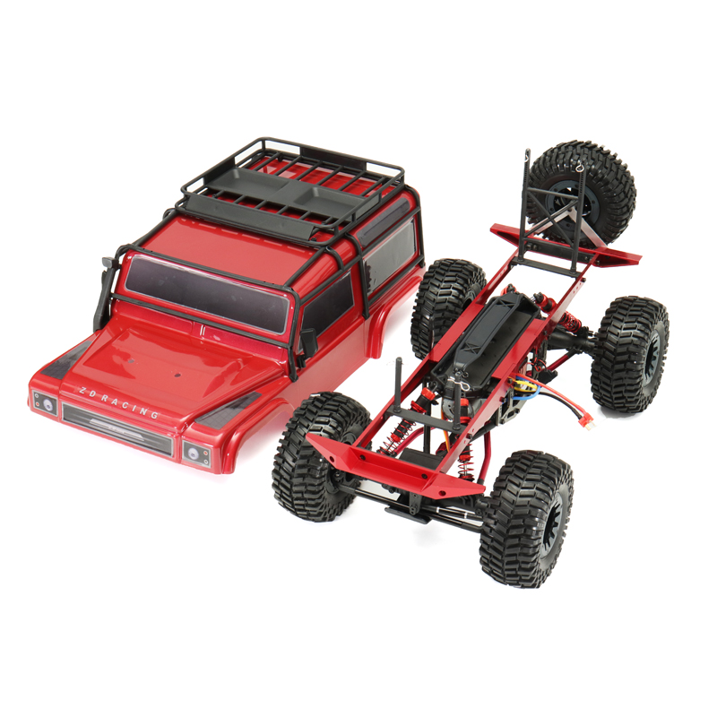 ZD 08422 1/8 2.4G 4CH 4WD Long Distance Rc Car Crawler Truck
