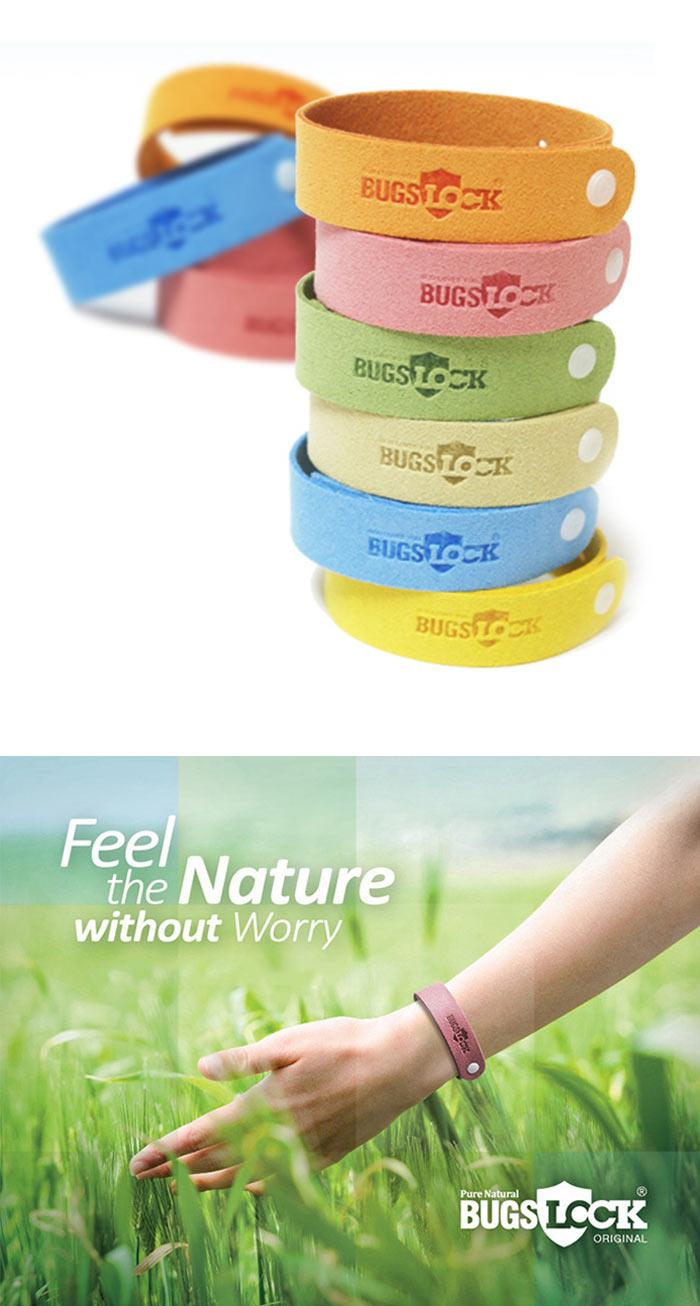 Natural Mosquito Repellent Bracelets Adjustable Kids Adult Insect Bug Repellent Bands Pest Control