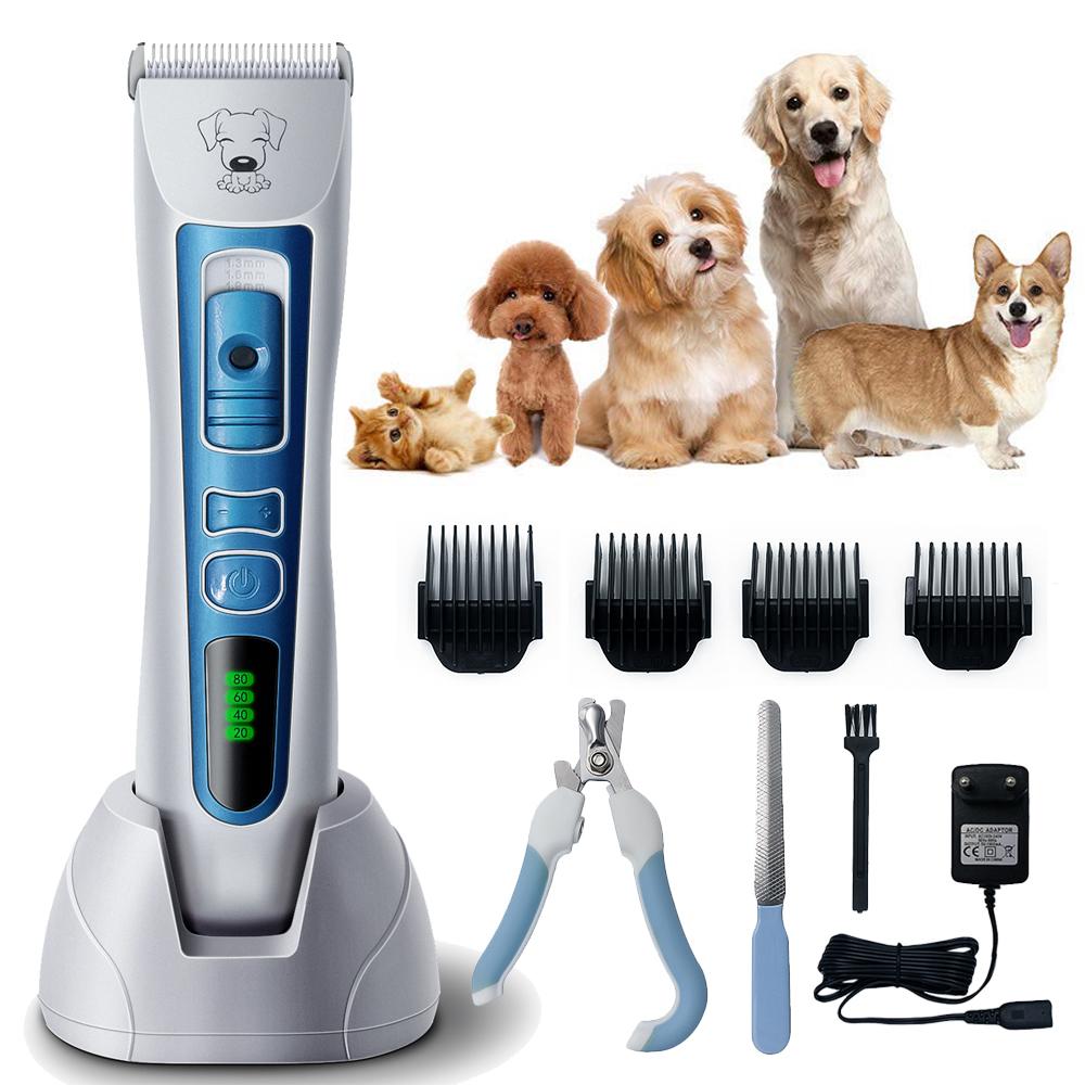 Pet Shaver Hair Clipper Low Noise Cordless Electric Dog Cat